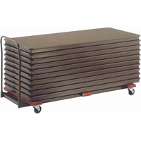Flat Stack Table Caddy OA527 | NIS Northern Industrial Sales