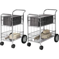 Wire Mail Carts OB185 | NIS Northern Industrial Sales