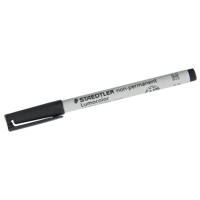 Lumocolor® Non Permanent Medium Tip Black Marker OB406 | NIS Northern Industrial Sales