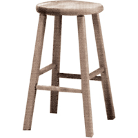 Wooden Stool OC860 | NIS Northern Industrial Sales