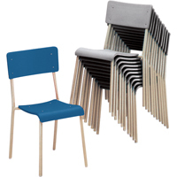 Chaises empilables Ventura OD920 | NIS Northern Industrial Sales
