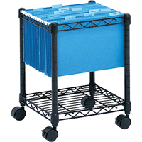File Carts-compact Mobile File Cart OE226 | NIS Northern Industrial Sales