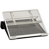 Rolodex® Two-Tone Mesh Laptop Stands OH929 | NIS Northern Industrial Sales