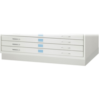 Closed Base for Facil™ Flat File Cabinets OJ919 | NIS Northern Industrial Sales