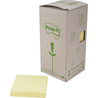 Recycled Post-it® Self-Adhesive Notepads OK996 | TENAQUIP