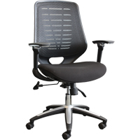 Activ® A-45 High-Back Mesh Syncro-Tilter Office Chairs ON710 | NIS Northern Industrial Sales