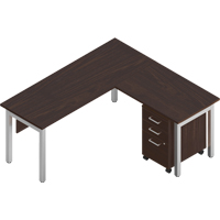 Ionic L-Shaped Desk Suites OP335 | NIS Northern Industrial Sales