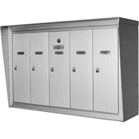 Single Deck Wall Mounted Mailboxes OP393 | NIS Northern Industrial Sales