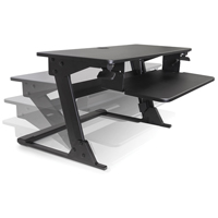 Goya™ Sit-Stand Workstation OP807 | NIS Northern Industrial Sales