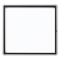 Quartet® Euro™ Enclosed Magnetic White Board OP849 | NIS Northern Industrial Sales