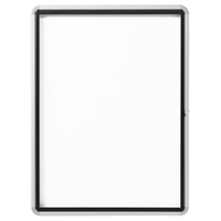 Quartet® Euro™ Enclosed Magnetic White Board OP850 | NIS Northern Industrial Sales