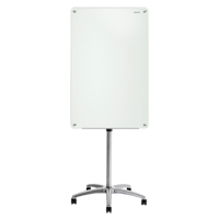 Quartet® Infinity™ Glass Magnetic Mobile Easel OP852 | NIS Northern Industrial Sales