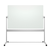 Quartet<sup>®</sup> Infinity™ Reversible Glass Magnetic Mobile Easel OP853 | TENAQUIP