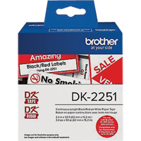 Brother® Labels OP898 | NIS Northern Industrial Sales