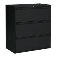 3-High Lateral File Cabinet OP905 | NIS Northern Industrial Sales