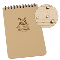 Rite in the Rain® Pocket Top-Spiral Notebook OQ408 | TENAQUIP