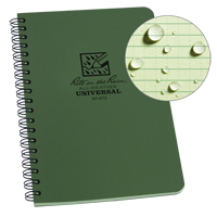 Rite in the Rain® Side-Spiral Notebook OQ410 | TENAQUIP