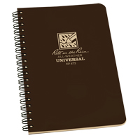 Rite in the Rain® Side-Spiral Notebook OQ443 | TENAQUIP