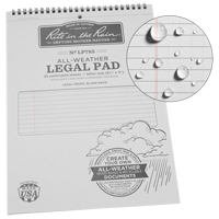 Rite in the Rain® Top-Spiral Legal Pad OQ500 | TENAQUIP