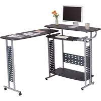 Scoot™ Standing Desk with Rotating Work Surface OQ707 | NIS Northern Industrial Sales