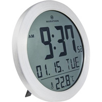 Round Digital Wall Clock OQ830 | NIS Northern Industrial Sales