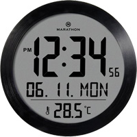 Round Digital Wall Clock OQ831 | NIS Northern Industrial Sales