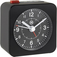 Mini Non-Ticking Analog Alarm Clock OQ832 | NIS Northern Industrial Sales