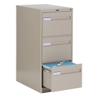 Vertical Files With Recessed Drawer Handles OTE620 | NIS Northern Industrial Sales