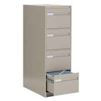 Vertical Files With Recessed Drawer Handles OTE626 | NIS Northern Industrial Sales