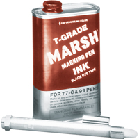 Marsh 99 Refillable Markers - T-Grade Ink PA258 | NIS Northern Industrial Sales