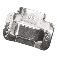Buckles for Portable Stainless Steel Strapping PE312 | NIS Northern Industrial Sales