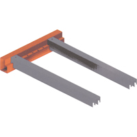 Redirack Profile Accessories - Safety Bar for Step Beams RL029 | NIS Northern Industrial Sales
