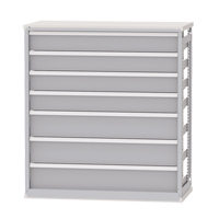 Integrated Shelving Drawer Inserts for Metalware Shelving RN517 | TENAQUIP
