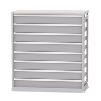 Integrated Shelving Drawer Inserts for Metalware Shelving RN469 | NIS Northern Industrial Sales