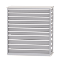Integrated Shelving Drawer Inserts for Metalware Shelving RN470 | NIS Northern Industrial Sales