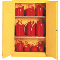Insulated ULC Listed Flammable Liquid Safety Cabinets SA087 | NIS Northern Industrial Sales