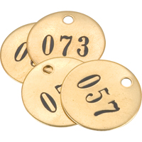 Numbered Tag | NIS Northern Industrial Sales