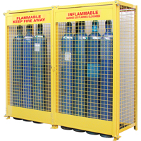 Gas Cylinder Cabinets SAF848 | NIS Northern Industrial Sales