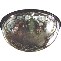 All-Vu® Acrylic Dome Mirrors - 360° full view dome SAF922 | NIS Northern Industrial Sales