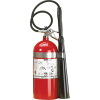 Aluminum Cylinder Carbon Dioxide (CO2) Fire Extinguishers SAJ099 | NIS Northern Industrial Sales