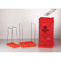 Clavies® Biohazard Bag Holders SAM059 | NIS Northern Industrial Sales