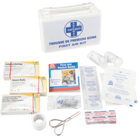 10-Unit Plastic First Aid Kit SAP137 | NIS Northern Industrial Sales