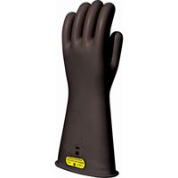 Black Natural Rubber Insulating Gloves - Class 2 SAR297 | NIS Northern Industrial Sales