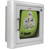 AED Plus® - Recessed Wall Cabinet with Alarm SAX737 | NIS Northern Industrial Sales