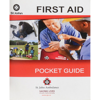 St. John Ambulance First Aid Guides SAY527 | NIS Northern Industrial Sales