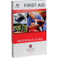St. John Ambulance First Aid Guides SAY528 | NIS Northern Industrial Sales