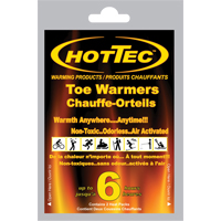 HOTTEC™ Adhesive Toe Warmers SDN881 | NIS Northern Industrial Sales