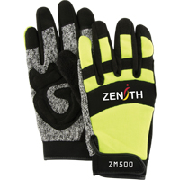 ZM500 Hi-Viz Cut Resistant Mechanic Gloves SDP433 | NIS Northern Industrial Sales
