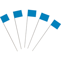 21'' Blue Marking Flag SEA002 | NIS Northern Industrial Sales