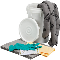6.5-Gallon Bucket Spill Kit SEB784 | NIS Northern Industrial Sales